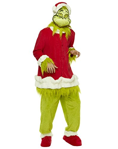 Dr Seuss Grinch Costumes (Spirit Halloween Adult How The Grinch Stole Christmas Costume – Dr. Seuss)