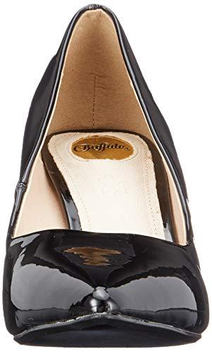 black Donna Nero 000 Tacco Scarpe Buffalo Con Alivia RzwxqpZvWP