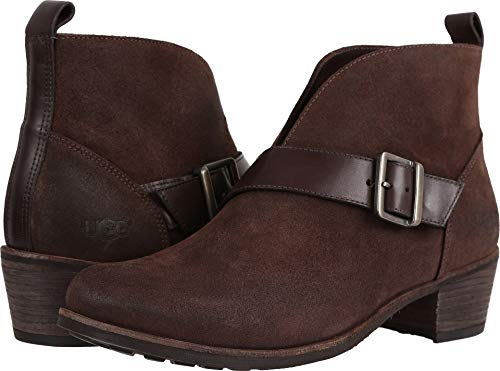 UGG Women's Wright Belted Bootie,Stout,US 5.5 ()