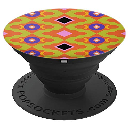 All Over Seamless Repeat Pattern 09 - Turkish Kilim Rug - PopSockets Grip and Stand for Phones and -