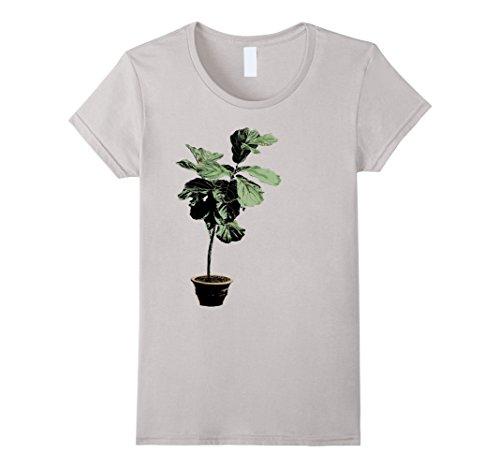 womens-fiddle-leaf-fig-houseplant-indoor-gardening-t-shirt-large-silver