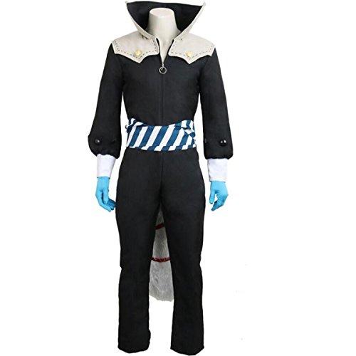 Poetic Walk Persona 5 P5 Yusuke Kitagawa Uniform Halloween Jumpsuit Cosplay Costume Custom (XX-Large, Mens Set)