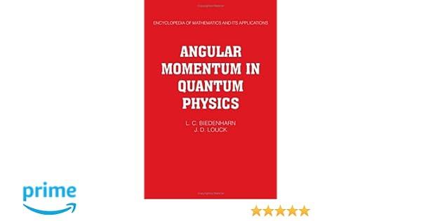 Quantum Theory Of Angular Momentum Varshalovich Pdf