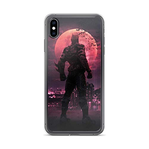 iPhone Xs Max Pure Anti-Shock Case Bat-Man Night (Vampire Knight Phone Charm)