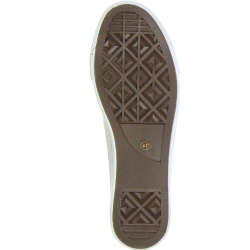 Cut Schuhe Sneaker Damen Herren Trentasette grau Grau Low FqFUfc