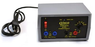 Eisco Labs Power Supply - Regulated AC/DC 12V - 2A