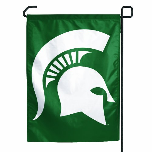 NCAA Michigan State Spartans Garden Flag (Ncaa Garden Decorations)