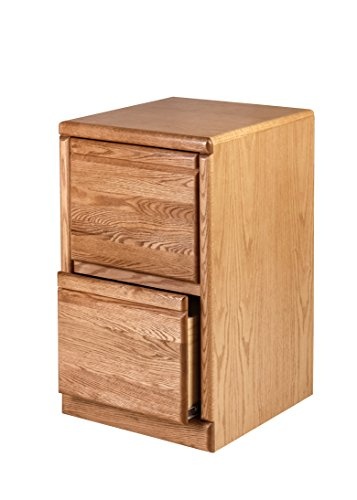 Forest Designs HFF-1032-BG File Cabinet, 30h Two Drawers, Golden - 30h Cabinet