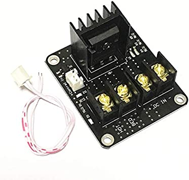 XBaofu 1pc General Add-on semillero MOSFET Módulo de Expansión climatizada Cama de alimentación de expansión Mos Tubo for DIY Anet A8 A6 A2 Impresora 3D