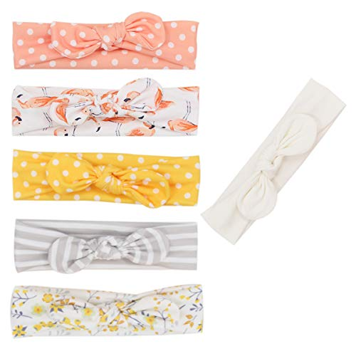 (Newest Baby Headbands Turban Knotted Girl Hairbands Toddler Childrens (Multicolor-LXZ39))