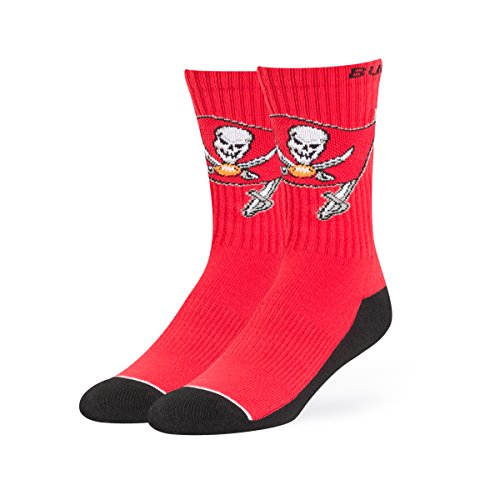 NFL Tampa Bay Buccaneers OTS Anthem Sport Sock, Torch Red, Large]()