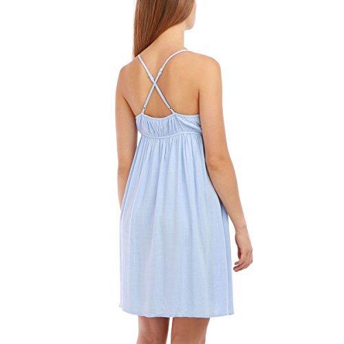 La Modeuse - Vestido - para mujer Azul