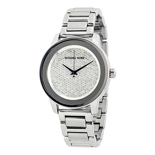 Michael Kors Women's Kinley Silver-Tone Watch MK5996