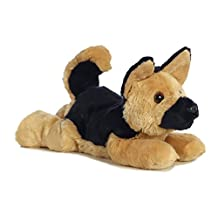 Aurora Bismarck German Shepherd Dog 12-Inch Flopsie Stuffed Animal