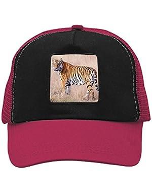 Unisex Wild Tiger Adjustable Classic Hiphop Hat Baseball Cap Snapback Dad Hat