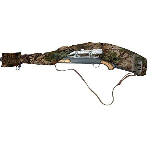 "Scoped Rifle Case, Shotgun Case, Waterproof Camo Rifle Sleeve Cover, Fast Case Gun Pack Accessories, for Guns 38"" to 56"" - Gun Slicker (Alpine Mountain Camo) by Slicker"