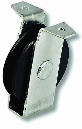 Chapuis VPCP2 Polea de chapa de acero galvanizado - 40 kg - Rueda diámetro 60 mm - Para cuerda de 8 mm de diámetro: Amazon.es: Industria, empresas y ciencia
