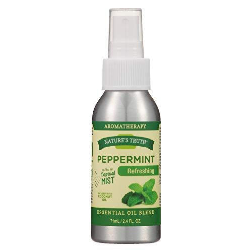 Nature's Truth Peppermint On The Go Hydrating Mist, 2.4 oz. Per Bottle (5 Pack) by Nature's Truth