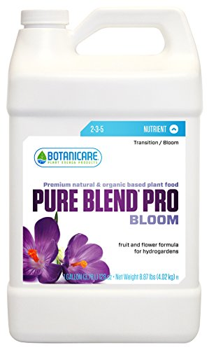 Pure Grow Blend Pro (Botanicare BCPBPBGAL Pure Blend Pro Bloom Gallon Growing Nutrient, 1)