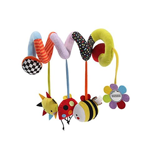 Tery Baby Toddler Toys Giocattoli per bambini Bambola carrozzina giocattolo appeso giocattoli Sleeping Comfort per unisex Baby (Bee)