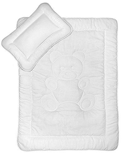 2-teiliges Bettenset für Kinder Bettdecke 100x135cm + Kissen 40x60cm waschbar