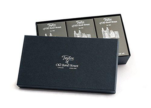 Taylor of Old Bond Street Eton College 3 Pack of 200g Bath Soap (Eton College Taylor Of Old Bond Street)