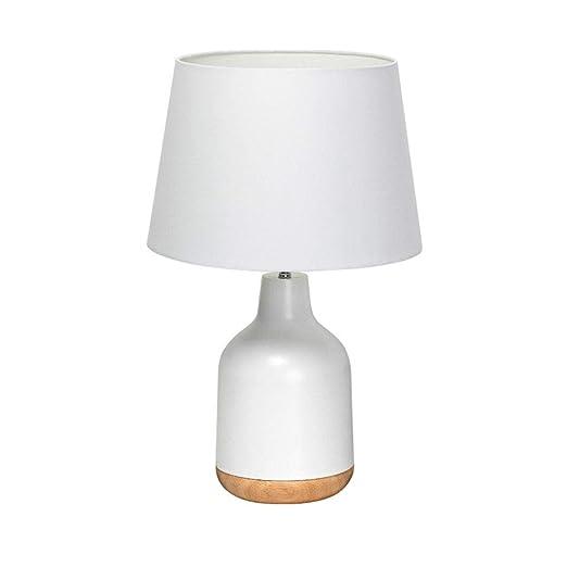 Fashion Lámpara de mesa moderna minimalista Europea Hierro mesa de ...