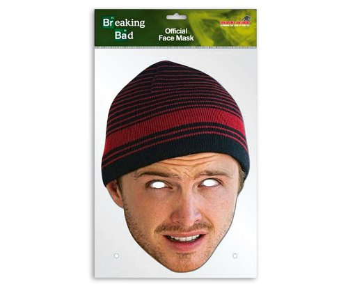[Breaking Bad Party-Mask Jesse Pinkman (Aaron Paul)] (Breaking Bad Jesse Costumes)