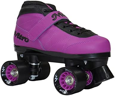 Epic Skates NitTurPrp03 Nitro Turbo Quad Speed Skates, Purple