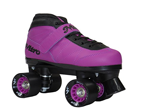 Epic Skates NitTurPrp03 Nitro Turbo Quad Speed Skates, Purple