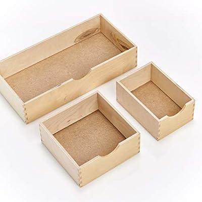 Tea Coffee Storage Box Tea Bag Organizer Tea Storage Tea Box-Wooden Tea Box 9-Compartment