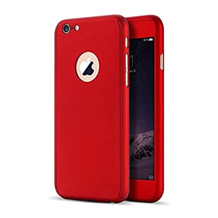 dfd097f4122 Image Unavailable. Image not available for. Colour: IPHONE 6 PLUS/6S PLUS - 360  Degree Full Body Protection Front & Back Case