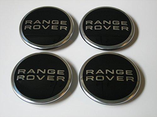Genuine Range Rover Polished Wheel Center Caps SET OF -