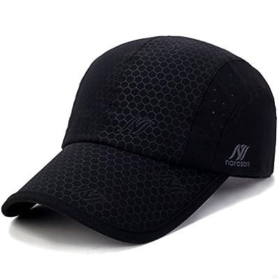 GADIEMENSS Soft Brim Lightweight Running Cap Waterproof Breathable