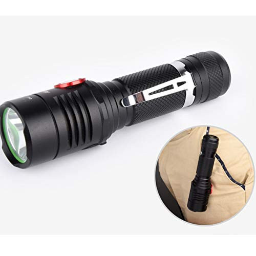 1 Set 3800 Lumen 10W 3 Mode CREE XM-L2 T6 LED Flashlights Waterproof Military Torch Lavish Fashionable Quick Coast High Lumens Bright Light Holder Camping Flashlight