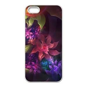 Flower iPhone 5,5S Case White Kimberly Kurzendoerfer