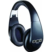 808 DUO Wireless and Wired Precision-Tuned Over-Ear Headphones - Matte Black