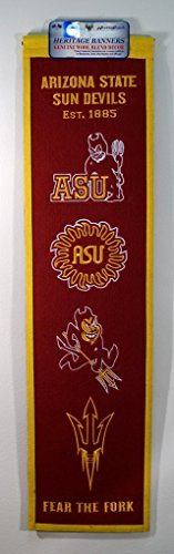 Winning Streak Sports NCAA Arizona State Sun Devils Heritage Banner