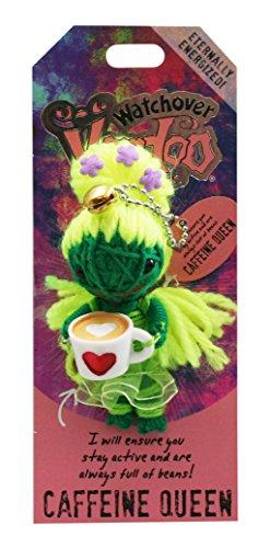 Watchover Voodoo Caffeine Queen Good Luck (Charm Voodoo Dolls)