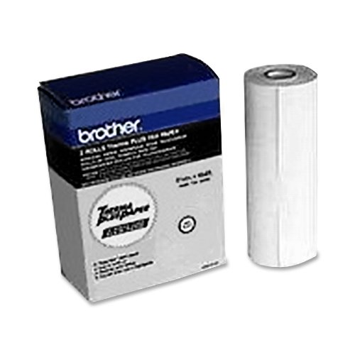 Brother 6895 Fax-635 Intellifax Home/Office Faxphone, Thermal Paper, 2/Pk - Retail Packaging