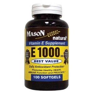 MASON NATURAL - Special - E-1000 DL ALPHA SOFTGELS 100 pe...