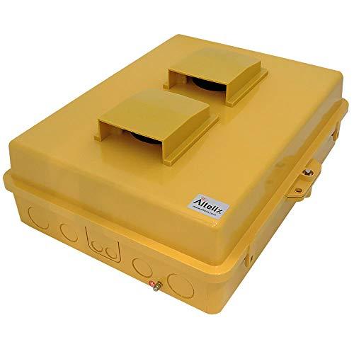Altelix Vented Yellow NEMA Enclosure (14'' x 9'' x 4.5'' Inside Space) Polycarbonate + ABS Tamper Resistant Weatherproof by Altelix (Image #7)