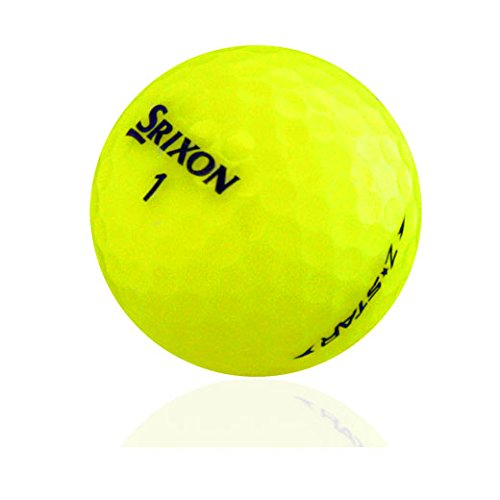 Srixon Z Star Yellow Mix AAAAA Pre-Owned Golf Balls - 12 pcs