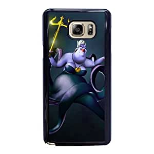 Fashion image DIY for Samsung Galaxy Note 5 Cell Phone Case Black Disney villains ursula 5 Best Gift Choice For Birthday HMB3471557