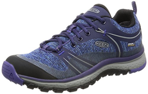 KEEN Women's Terradora Waterproof Hiking Shoe, Astral Aura/Liberty, 8.5 M US