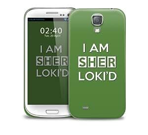 iam sher lokid Samsung Galaxy S4 GS4 protective phone case