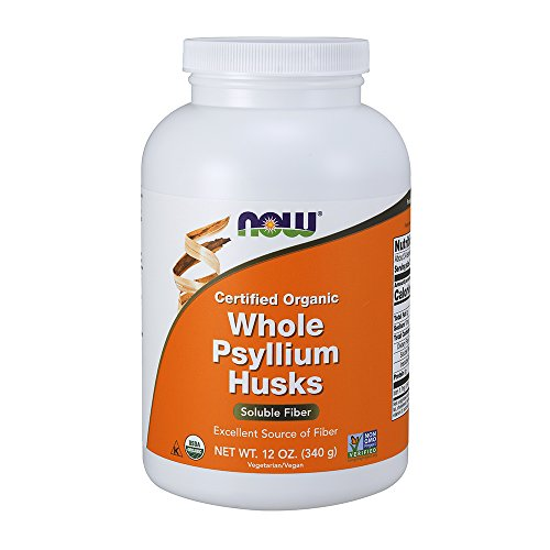 NOW Supplements, Organic Whole Psyllium Husks, ()