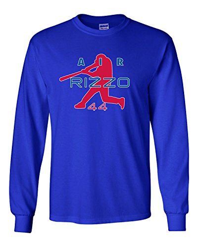 - The Silo LONG SLEEVE BLUE Chicago Anthony Rizzo