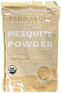 Terrasoul Superfoods Mesquite Powder (Organic), 12 Ounce