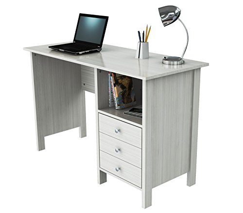 Inval America ES 3303 Laura Collection Computer Desk, Laricina White ()